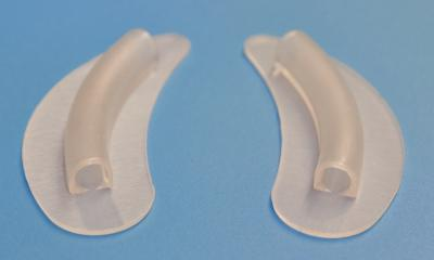 Nasal splint vented